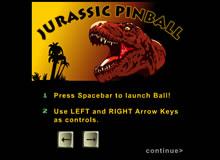 Jurassic Pinball Spiel